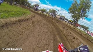 getlinkyoutube.com-Wide F'ing Open at Baja Acres - James Roberts - 250 ProSport - Dirt Bike Addicts