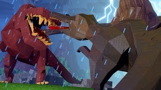 "getlinkyoutube.com-Minecraft Dinosaurs | Jurassic Craft Ep 98! ""GIANT SPINOSAURUS ATTACKS"""