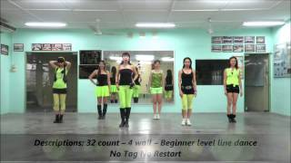 getlinkyoutube.com-Morning Sha La La line dance(Demo & Walk Thru)26/9/14)