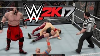 getlinkyoutube.com-WWE 2K17 - Another Great Match [6-Man Elimination Chamber Match] - PS4