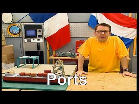 Comment les chargements des bateaux sont-ils automatisés ? - C'est pas sorcier