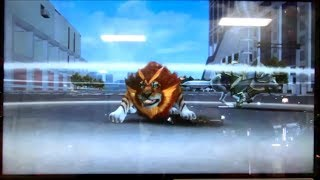 getlinkyoutube.com-グレートアニマルカイザー ゴッド5弾 ミッション3 騎士と武者:相変わらず何の工夫も無い・・・