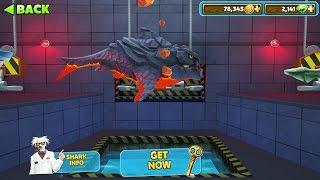 getlinkyoutube.com-Hungry Shark Evolution Pyro Shark Android Gameplay