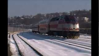 getlinkyoutube.com-Double Stacks, MBTA Equipment Moves, and the Downeaster?
