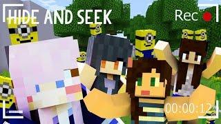 getlinkyoutube.com-Minecraft Hide and Seek | Minions!