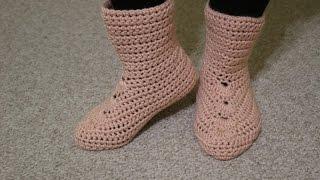 getlinkyoutube.com-Botas Crochet