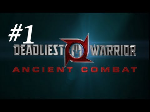 Deadliest Warrior: Ancient Combat (Legends) Gameplay Part 1 - Best Start Ever
