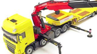 getlinkyoutube.com-Model Truck World: WSI Fassi DAF