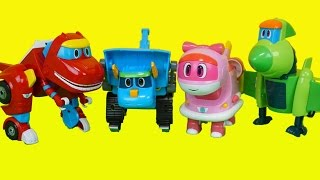 getlinkyoutube.com-고고다이노 렉스 토모 비키 리틀핑 변신 공룡 장난감 Gogo dino toys