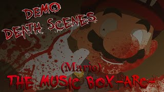 getlinkyoutube.com-(Mario) The Music Box -ARC-   RPG Maker Horror [ Death Scenes / Game Overs ]