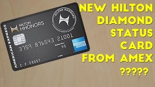 getlinkyoutube.com-American Express Releasing a Hilton Diamond Credit Card?