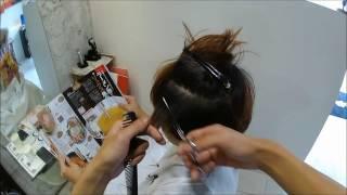 getlinkyoutube.com-【warphair森泉】耳出しショート女子のマッシュスタイル