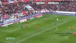 getlinkyoutube.com-Bayern Leverkusen - Wolfsburg highlights 4-5