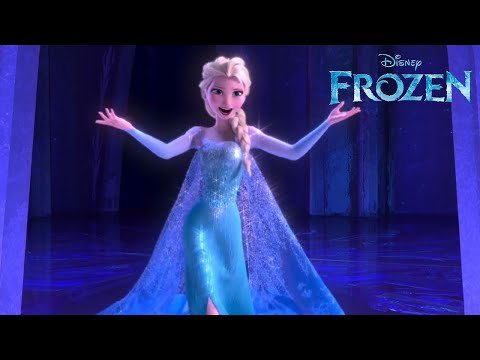 let it go from disneys frozen as performed by idina menzel official disney hd