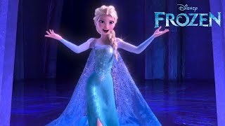 getlinkyoutube.com-Let It Go from Disney's FROZEN as performed by Idina Menzel | Official Disney HD