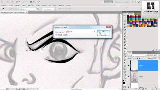 getlinkyoutube.com-Tutorial: Trazados,line art photoshop cs5