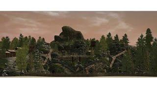 Mystic Machine - mine train dark ride coaster [Collab w/Totoditoto | RCT3]