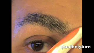 getlinkyoutube.com-Best tutorial on youtube how to cover your eyebrows