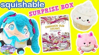 getlinkyoutube.com-Squishable Plush Blind Box Hatsune Miku Kawaii Squishy Animal Surprise Egg and Toy Collector SETC