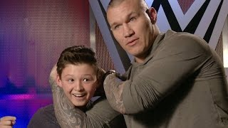 getlinkyoutube.com-This kid thinks he can counter Orton's RKO?!, only on WWE Network