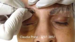 getlinkyoutube.com-تاتو حواجب شعرة شعرة بتقنية  ثري دي ,Tattoo eyebrows 3D