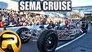 getlinkyoutube.com-Leaving SEMA Show 2015 - 30 Minutes of Custom Cars