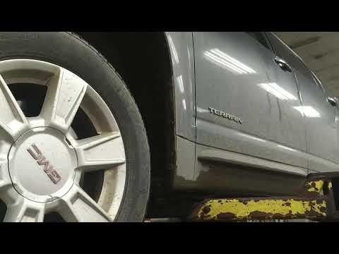 2011 GMC Terrain wheel speed sensor failure