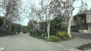getlinkyoutube.com-Lady Gaga's House *Driving in Bel-air California