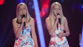 getlinkyoutube.com-Katie and Emilie Sings Radioactive   The Voice Kids Australia 2014