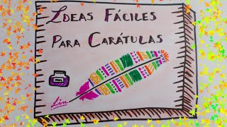getlinkyoutube.com-IDEAS PARA TUS CARATULAS ❤ CARATULAS CREATIVAS