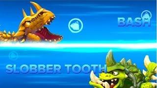 getlinkyoutube.com-Skylanders Swap Force - Series 2 Bash VS Slobber Tooth