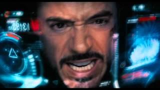 getlinkyoutube.com-The Avengers 2012 - Iron man and the Rotors
