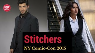 NYCC 2015: Damon Dayoub e Salli Richardson de Stitchers