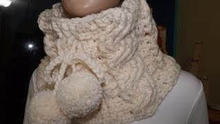 getlinkyoutube.com-Crochet cuello de trenzas - con Ruby Stedman