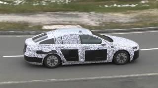 getlinkyoutube.com-2017 Opel Insignia spied in the Alps