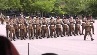 getlinkyoutube.com-Army Pass Out Parade Winchester Barracks 23 Aug 2013