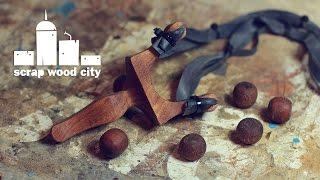 getlinkyoutube.com-DIY wooden slingshot