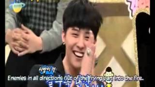 getlinkyoutube.com-G Dragon said if he go to desert he will go with Yoona on strong heart
