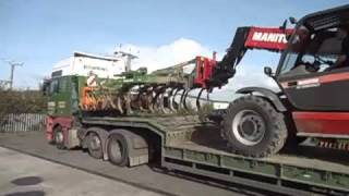 Agriweld Quickshift Machinery Mover in action