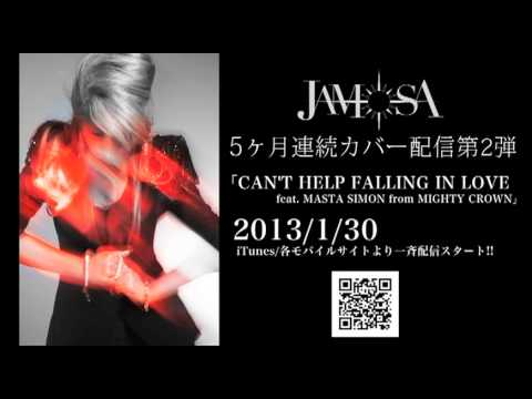 JAMOSA / CAN'T HELP FALLING IN LOVE feat. MASTA SIMON from MIGHTY CROWN