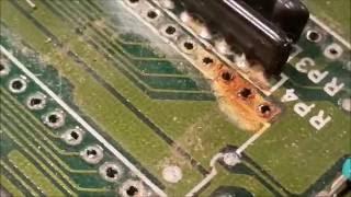 getlinkyoutube.com-ATARI 1040ST  OS/TOS ROM Socket Repair Part 2 of 4