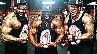 getlinkyoutube.com-Chest Workout: Kali Muscle +The Beast +Thaiga