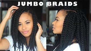 getlinkyoutube.com-How to Crochet Braids w/ Jumbo Faux Braids!!! (Janet Jackson inspired)