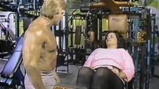 getlinkyoutube.com-Paul Orndorff at the Gym  1984