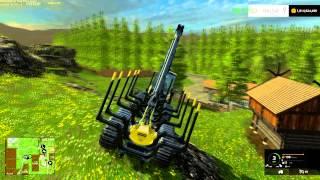 getlinkyoutube.com-farming simulator 2015 The forestry map setup