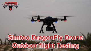 Simtoo Dragonfly 4K Follow Me Drone Test Flights