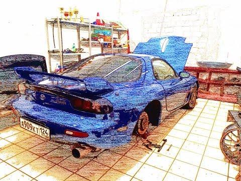 #rx-7 Диагностика шарового соединения подвески Mazda rx-7