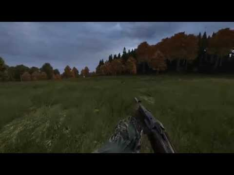DayZ Standalone : Randomly Encountered a Zombie killing a Cow