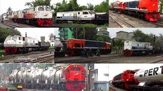 getlinkyoutube.com-[kompilasi] Busy Day at Kertapati Station - Kesibukan Lalu Lintas Kereta Api di Stasiun Kertapati