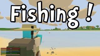 getlinkyoutube.com-UNTURNED 3.0 - Fishing! (Gameplay / Walkthrough)